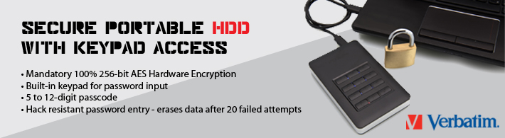 Encrypted HDD