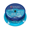 CD-R DataLife Branded 80 min52x NonPrint RetSpindle 25pk QQQ