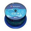 CD-R DataLife Branded 80 min52x NonPrint RetSpindle 50pk QQQ