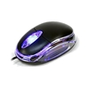 DYNAMODE USB OPTICAL MOUSE TRANSPARENT/ ILLUMINAT LED - QQQ