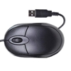 DYNAMODE USB OPTICAL MOUSE BLACK / GREY - QQQ
