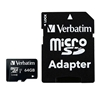 Verbatim MICRO SDXC CARD 64GB CLASS 10 INC ADAPTER