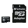 VERBATIM MICRO SDHC CARD 16GB CLASS 10 INCL ADAPTOR