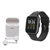 DENVER BLUETOOTH SMARTWATCH  FULL TOUCH + BLUETOOTH EARBUDS